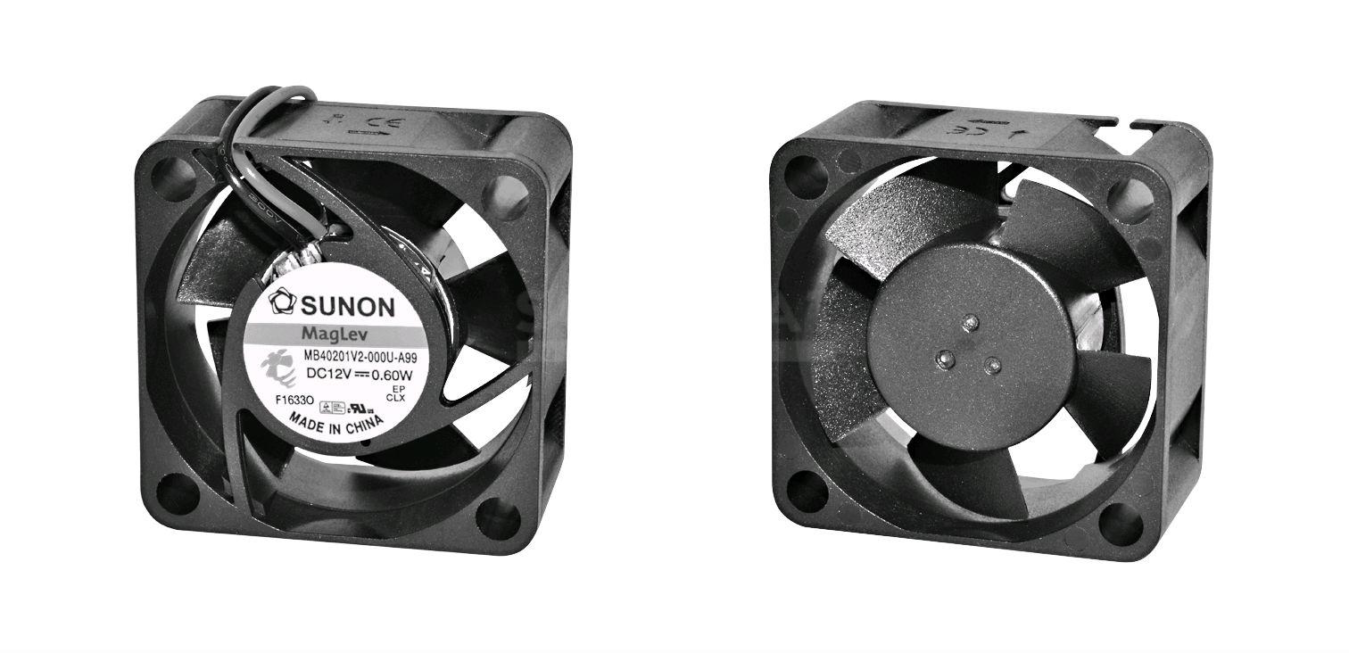 MF40202V1-1000U-A99 Axial-Lüfter 40x40x20mm 24V= 13,1m³//h 21dBA Sunon =MB40202V1