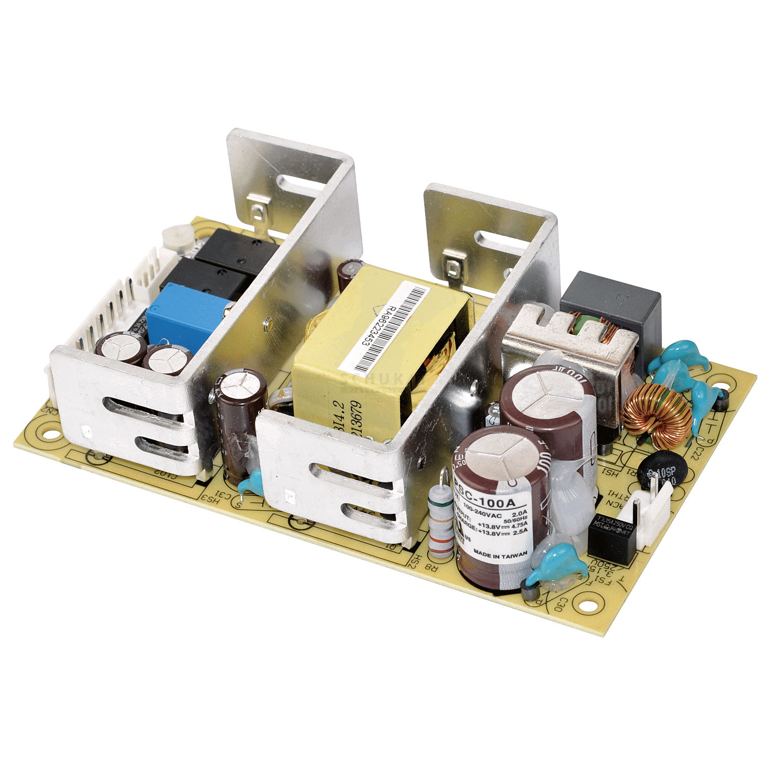 Meanwell Switching Power Supplies Series Psc 100 Open Frame Single Ups Circuit Diagram 100w