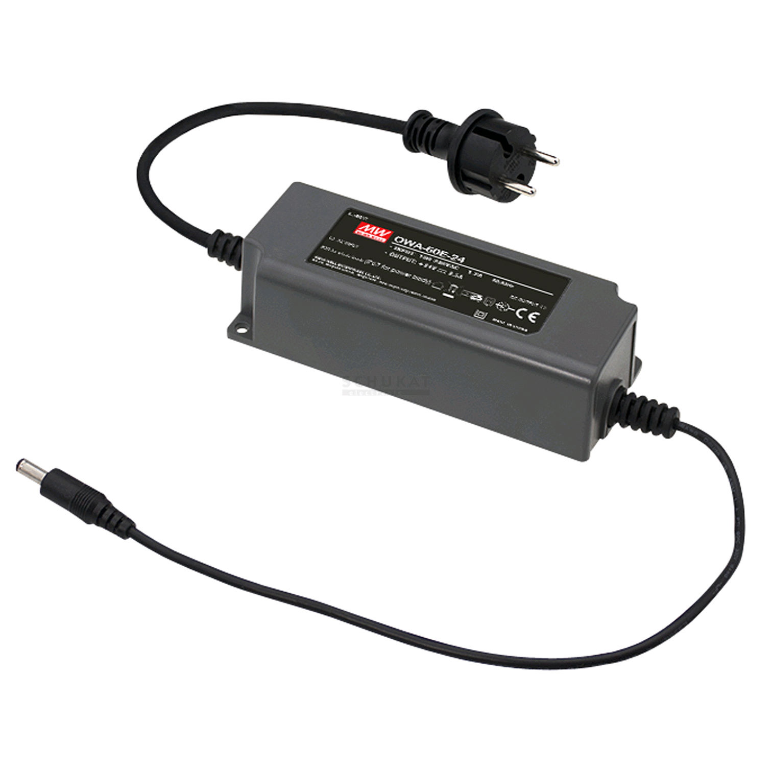 Meanwell Desktop Adaptor Series Owa 60e Plastic Case Ip67 Single 24v Power Supply 65a Output Dimensions Derating